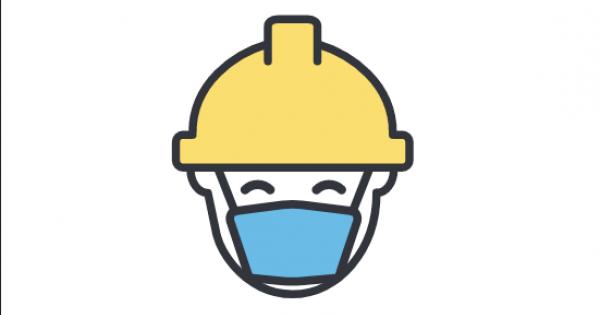 Reinício dos estaleiros de construção: Instruçõe de saúde no Trabalho