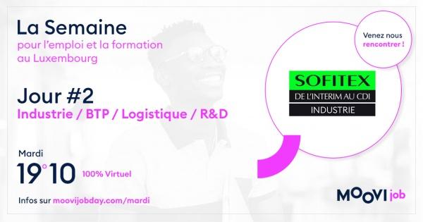Sofitex présent à la Semaine de l'Emploi en virtuel !