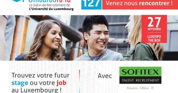 L'équipe Sofitex Talent au Unicareers 2019